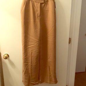 Brand New Straight Leg Camel Slacks